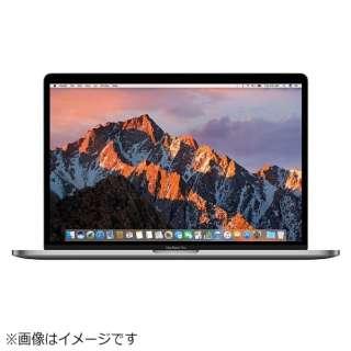 MacBookPro 15インチ Touch Bar搭載 USキーボードモデル[2016年/SSD 512GB/メモリ 16GB/2.7GHzクアッドコア Core i7]スペースグレイ MLH42JA/A