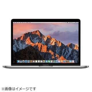 MacBookPro 13インチ Touch Bar搭載 USキーボードモデル[2016年/SSD 512GB/メモリ 8GB/2.9GHzデュアルコア Core i5]スペースグレイ MNQF2JA/A