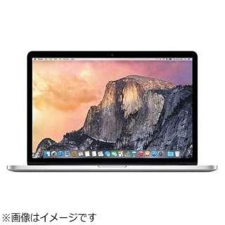 MacBookPro 15インチ Touch Bar搭載 USキーボード カスタマイズモデル[2016年/SSD 1TB/メモリ 16GB/2.9GHzクアッドコア Core i7]シルバー MLW92JA/A