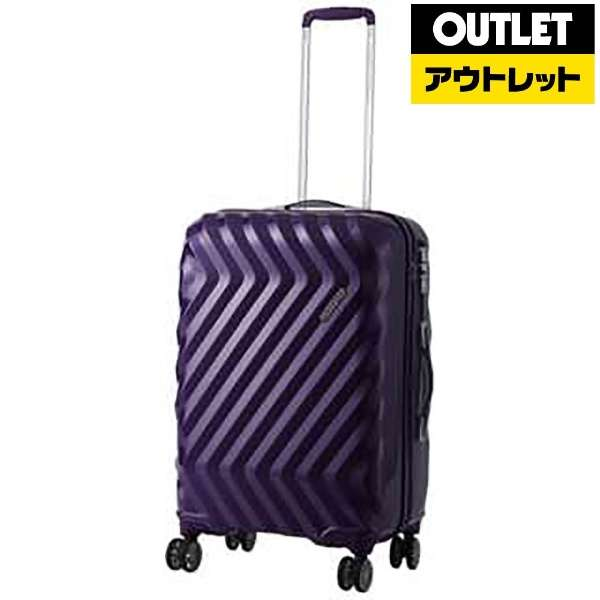 【アウトレット品】 スーツケース 102L ZAVIS(ゼイビズ) Moonrise Purple I25-95003 [TSAロック搭載] 【外装不良品】