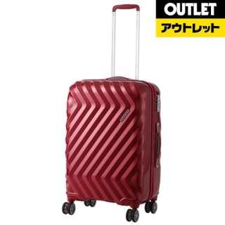 【アウトレット品】 スーツケース 32L ZAVIS(ゼイビズ) Autumn Red I25-76001 [TSAロック搭載] 【外装不良品】