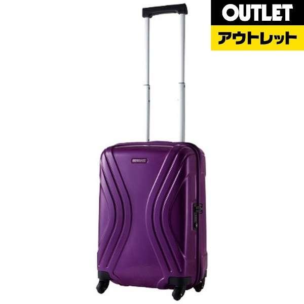 【アウトレット品】 スーツケース 36L VIVOLITE(ヴィヴォライト)Spinner55(スピナー55) Purple 35R50001 [TSAロック搭載] 【生産完了品】