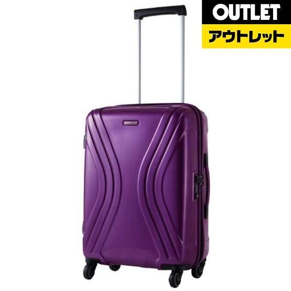 【アウトレット品】 スーツケース 56L VIVOLITE(ヴィヴォライト)Spinner62(スピナー62) Purple 35R50002 [TSAロック搭載] 【生産完了品】