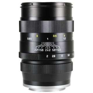 カメラレンズ 85mm F2 CREATOR ブラック [ソニーE /単焦点レンズ]