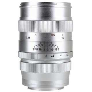 カメラレンズ 85mm F2 CREATOR シルバー [ソニーE /単焦点レンズ]