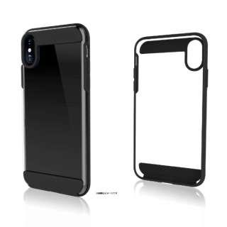 iPhone X用 Innocence Tough Case Clear ブラック 1363CLR6
