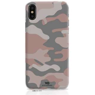 iPhone X用 Camouflage Case ローズゴールド 1360CFL56