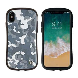 iPhone X用 iFace First Class Militaryケース グレー IP8IFACEMILLTARYグレー