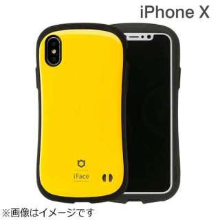 iPhone X用 iFace First Classケース イエロー IP8IFACEFCYE
