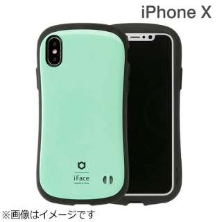 iPhone X用 iFace First Classケース ミント IP8IFACEFCMT