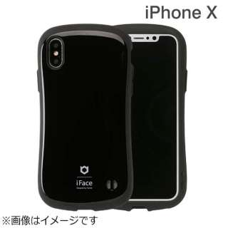 iPhone X用 iFace First Classケース ブラック IP8IFACEFCBK