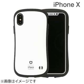 iPhone X用 iFace First Classケース ホワイト IP8IFACEFCWH