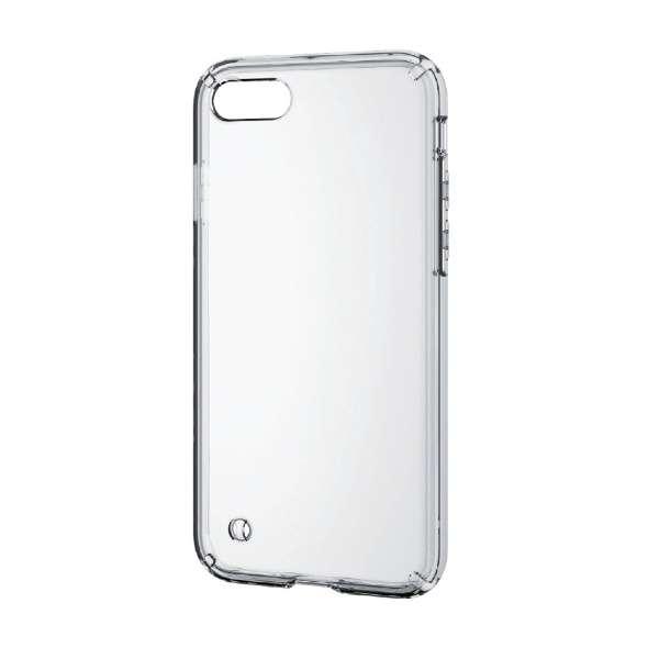 iPhone 8 ハイブリッドケース クリア PM-A17MHVCCR
