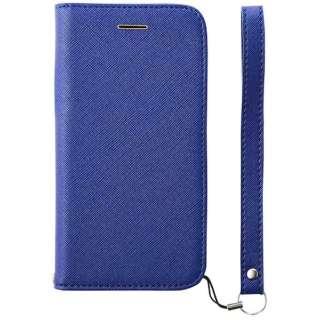 iPhone 8 手帳型  FlipNote Slim フリップノートケース テクスチャー ブルー TRAIP174FNSTBL