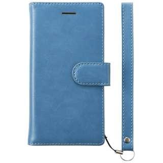 iPhone 8 手帳型  FlipNote フリップノートケース ブルー TRIP174FNNBL