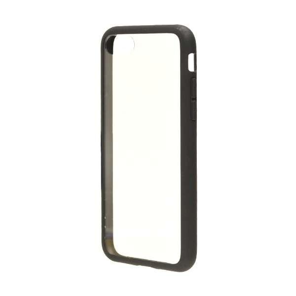 iPhone 8 ハイブリッドケース TPU/PC マットブラック 3538IP7SA