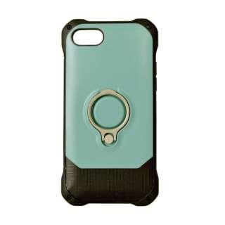 iPhone 8 リングスタンド付きケース ブルー 3475IP7SA