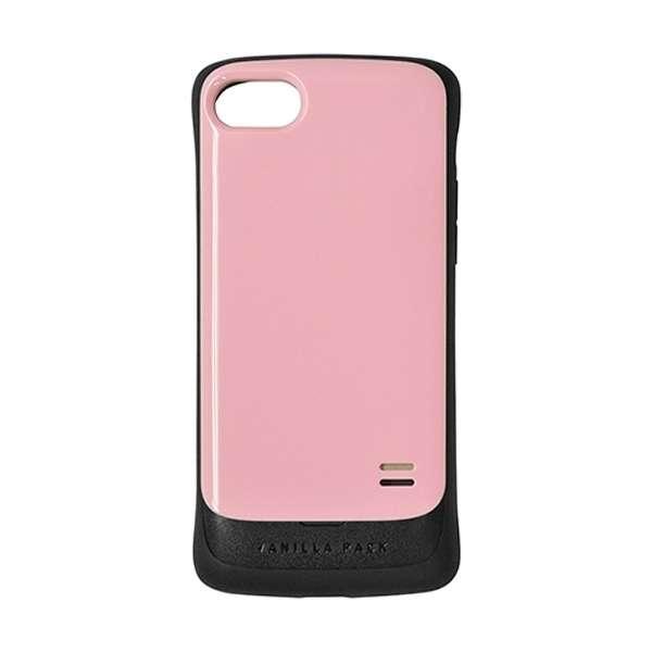 iPhone 8 VANILLA PACK 衝撃吸収ケース ピンク 3464IP7SA