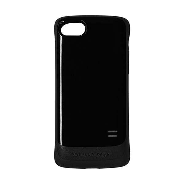 iPhone 8 VANILLA PACK 衝撃吸収ケース ブラック 3458IP7SA