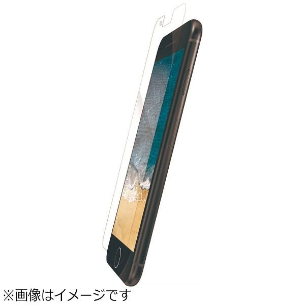 エレコム iPhone8/フィルム 衝撃吸収 ブルーライトカット 防指紋 PM-A17MFLBLGPN 1枚