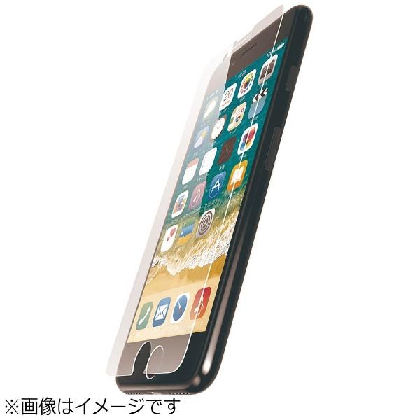 エレコム iPhone8Plus フィルム ガラスコート PM-A17LFLGLP 1枚