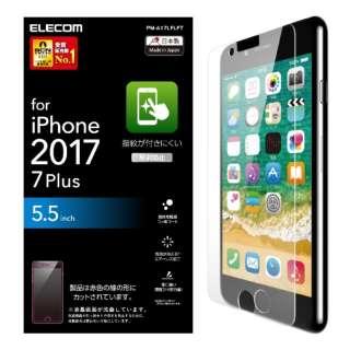 iPhone 8 Plus フィルム 防指紋 反射防止 PM-A17LFLFT PM-A17LFLFT