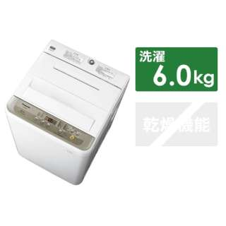 NA-F60B11-N 全自動洗濯機 シャンパン [洗濯6.0kg /乾燥機能無 /上開き]