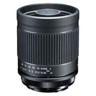 カメラレンズ ミラーレンズ 400mm F8 N II キヤノンEOS ブラック [キヤノンEF /単焦点レンズ]