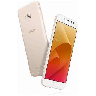 ZenFone 4 Selfie Pro(ZD552KL)サンライトゴールド「ZD552KL-GD64S4」 Snapdragon 625 5.5型・メモリ/ストレージ:4GB/64GB nanoSIMx1 nanoSIM or micro SDx1 DSDS対応 ドコモ/au/ソフトバック/YmobileSIM対応 SIMフリースマートフォン