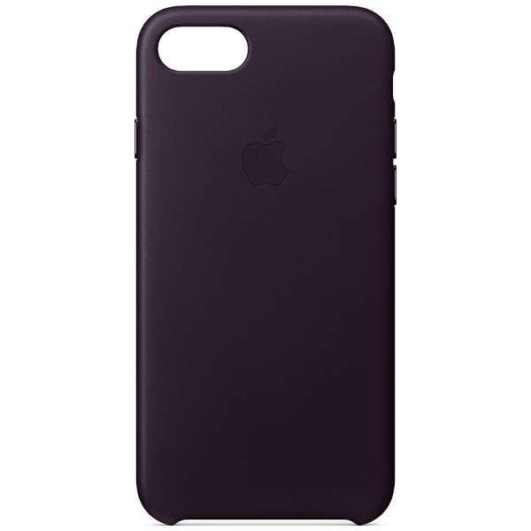 【純正】  iPhone 8用 レザーケース ダークオーバジーン MQHD2FE/A