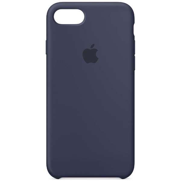 【純正】  iPhone 8用 シリコーンケース ミッドナイトブルー MQGM2FE/A