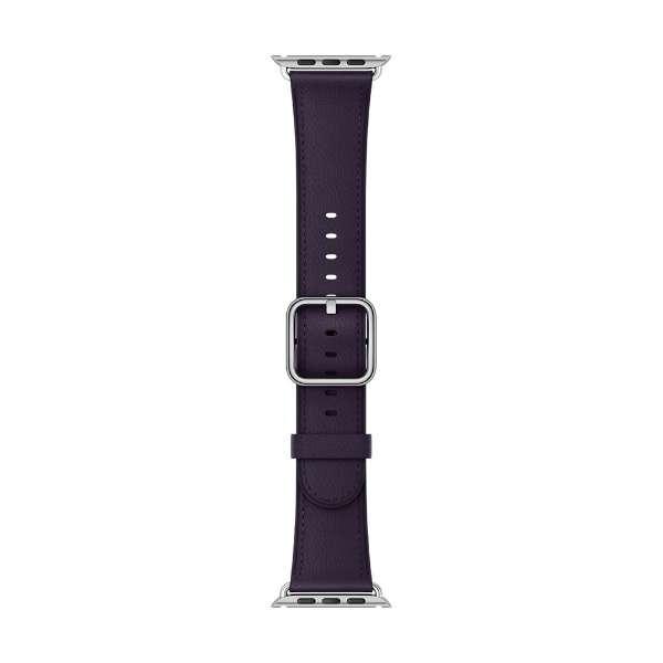 Apple Watch 38mm用交換バンド ダークオーバジーン クラシックバックル MQV12FE/A