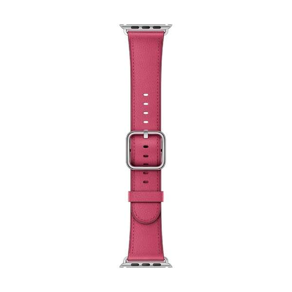 Apple Watch 38mm用交換バンド ピンクフクシア クラシックバックル MQUY2FE/A