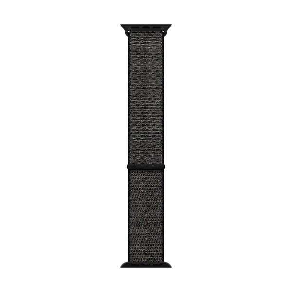 Apple Watch 42mm用交換バンド ブラック スポーツループ MQW72FE/A