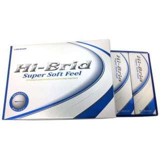 ゴルフボール Hi-BRID Super Soft Feel《1ダース(12球)/ホワイト》 【オウンネーム非対応】