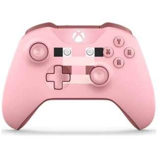 【純正】Xbox ワイヤレス コントローラー (Minecraft Pig) WL3-00054[Xbox One]