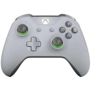 【純正】Xbox ワイヤレス コントローラー (グレー / グリーン) WL3-00062[Xbox One]