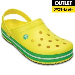 【アウトレット品】 サンダル [サイズ:25cm] Crocband(クロックバンド) 11016-7A8 M7W9 Lemon/Grass Green 【生産完了品】