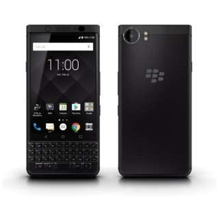 KEYone BlackEdition 「PRD-63763-002」 Snapdragon 625 4.5型 メモリ/ストレージ:4GB/64GB nanoSIM×1 ドコモ/ソフトバンクSIM対応 SIMフリースマートフォン