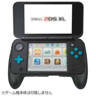new2DSLL用 ハンディグリップ ブラック ANS-2D016BK[New2DS LL]