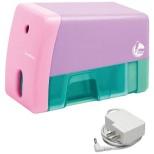 電動鉛筆削り 「イージーピージー」 EK-7018-P (ピンク)