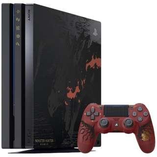 PlayStation 4 Pro (プレイステーション4 プロ) MONSTER HUNTER: WORLD LIOLAEUS EDITION [ゲーム機本体] CUHJ-10020