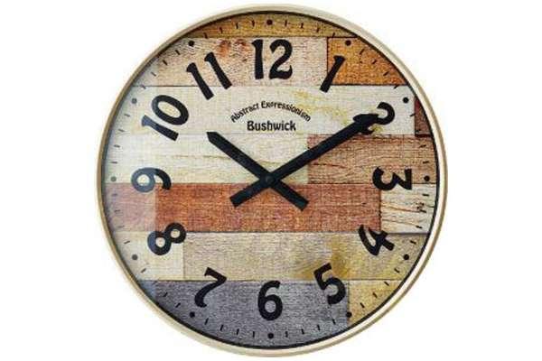 掛け時計のおすすめ21選 インターフォルム INTERFORM「ブッシュウィック(BUSHWICK)」CL-9361IV
