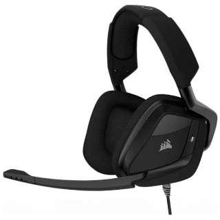 CA-9011156-AP ヘッドセット ブラック [φ3.5mmミニプラグ+USB /両耳 /ヘッドバンドタイプ]