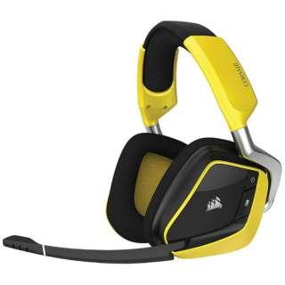 CA-9011150-AP ゲーミングヘッドセット VOID PRO RGB イエロー [USB /両耳 /ヘッドバンドタイプ]