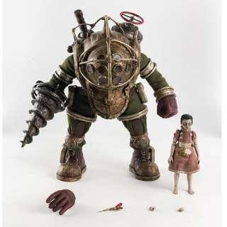 塗装済み可動フィギュア 1/6 BioShock(バイオショック) Big Daddy&Little Sister(ビッグダディ&リトルシスター)