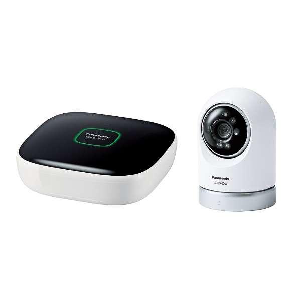 KX-HC600K-W ホームネットワークシステム スマ@ホーム システム ホワイト [暗視対応 /有線・無線]