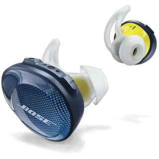 フルワイヤレスイヤホン Sound Sport Free wireless headphones ブルー SSPORTFREEBLU [マイク対応 /ワイヤレス(左右分離) /Bluetooth]