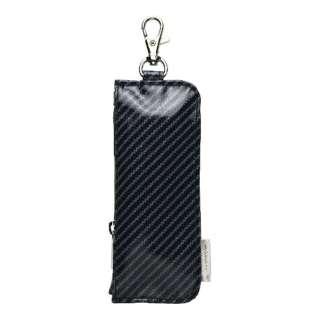 キーケース 「カギポケット・リール付」 GS-7130-D(ブラック)
