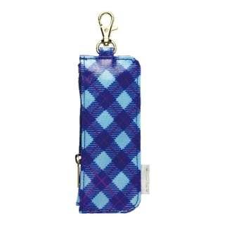 キーケース 「カギポケット・リール付」 GS-7130-B (ブルー)